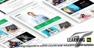 Learning - Responsive Online Course & Education Email Template
