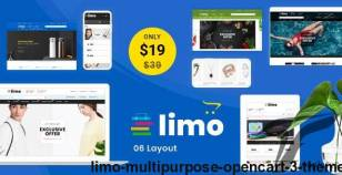 Limo - Multipurpose OpenCart 3 Theme By templatemela
