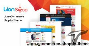 Lion – eCommerce Shopify Theme By hastech