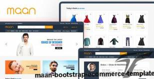 Maan - Bootstrap E-Commerce Template By askbootstrap