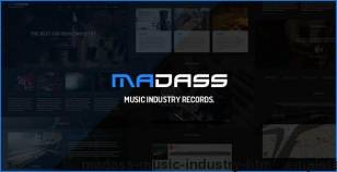 Madass - Music Industry HTML Template By rudhisasmito