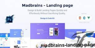 Madbrains - Landing Page By themadbrains