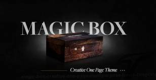Magic Box - Creative One Page Multipurpose HTML5 Template By xentube