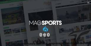 MagSports - News Editorial & Magazine Drupal 8 Theme By drupalet