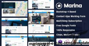 Marina - Real Estate HTML Template By norhan_moh