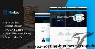 Markoz - Hosting Business Template By brothersclub