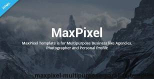 MaxPixel - Multipurpose Parallax Template By ecreativesol