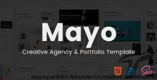 Mayo - Portfolio Template for Creative Professionals