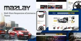 Mazlay - Car Accessories OpenCart Theme By posthemes