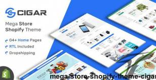 Mega Store Shopify Theme - Cigar By hastech
