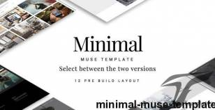 Minimal Muse Template By nublis