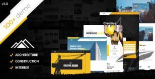 Mjin - Architecture and Construction HTML Template By htmlxyz