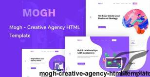 Mogh - Creative Agency HTML Template By themazine