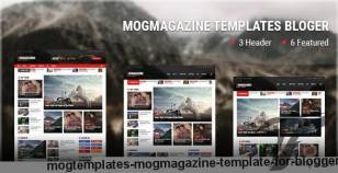 Mogtemplates - MogMagazine Template For Blogger By mogtemplates