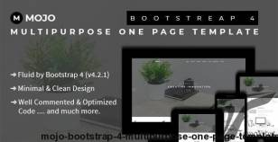 Mojo - Bootstrap 4 Multipurpose One Page Template By theme_xpress