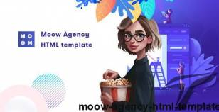 Moow - Agency HTML Template By pranontheme