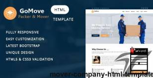 Mover - Company HTML Template By themelab15