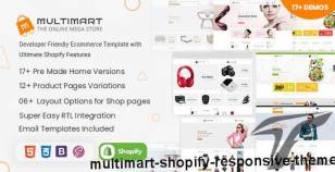Multimart - Shopify Responsive Theme By pixelstrap