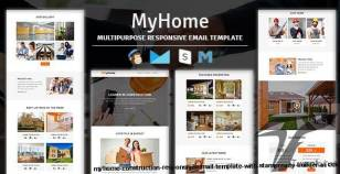 MyHome - Construction Responsive Email Template With Stampready Builder Access
