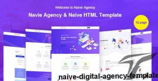 Naive Digital Agency Template By midedge