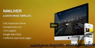 Nakliyem Logistic Muse Template By bygormo
