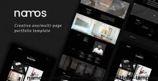 Namos - Creative One/Multi-Page Portfolio Template