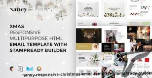 Nansy – Responsive Christmas Email Template + Stampready Builder