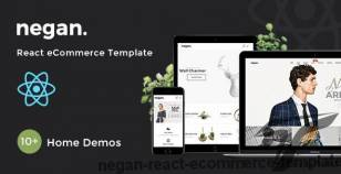 Negan – React eCommerce Template By bootxperts
