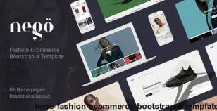 Nego - Fashion Ecommerce Bootstrap 4 Template