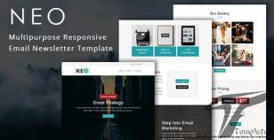 Neo - Multipurpose Responsive Email Template With Online Stampready Builder & Mailchimp Editor By guiwidgets