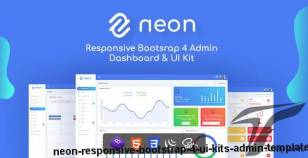 Neon - Responsive Bootstrap 4 UI Kits Admin Template By themesbox17