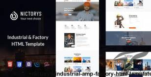 Nictorys - Industrial & Factory HTML Template By quomodotheme