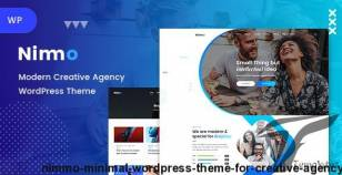 Nimmo - Minimal WordPress Theme for Creative Agency By casethemes