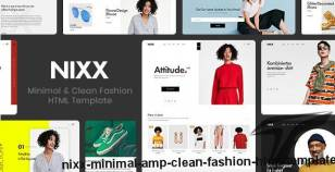 NIXX – Minimal & Clean Fashion HTML Template By engotheme
