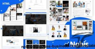 Nobis - Corporate Business HTML Template By dazzlersoft