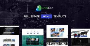 Nohikan - Real Estate HTML5 Template By pixelthemez