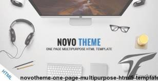NovoTheme - One Page Multipurpose HTML5 Template
