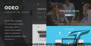 ODEO - Multipurpose & Business HTML Template By nunforest