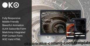 OKO - Creative Coming Soon Template By shprenger