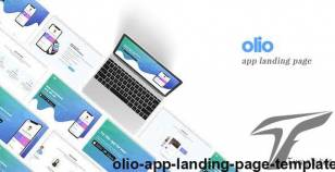 Olio | App Landing Page Template By themeeaster