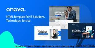 Onova - IT Solutions and Services Company HTML Template By webtend