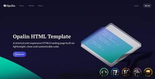 Opalin - Startup HTML Template By uiuxassets