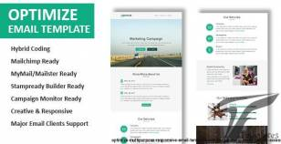 Optimize - Multipurpose Responsive Email Template with Online StampReady Builder Access By pennyblack