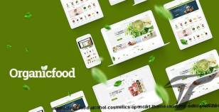 OrganicFood - Food, Alcohol, Cosmetics OpenCart Theme (Included Color Swatches) By plaza-themes
