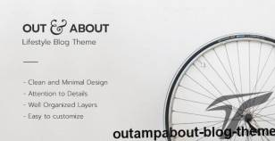 Out&About Blog Theme By wpcrewthemes