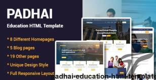 Padhai - Education HTML Template By cn-infotech