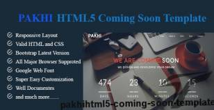 PAKHI-HTML5 Coming Soon Template By jewel1994