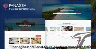 Panagea - Hotel and Tours Booking WordPress Theme By c-themes
