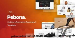 Pebona - Fashion eCommerce Bootstrap 4 Template By hastech