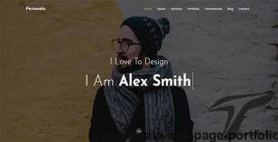 Personala - One Page Portfolio By his7am